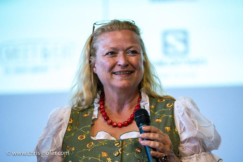 4. Airportlauf am Salzburg Airport 15.06.2018 Foto: Chris Hofer, Bild zeigt: Bettina Ganghofer (Geschäftsführerin)
