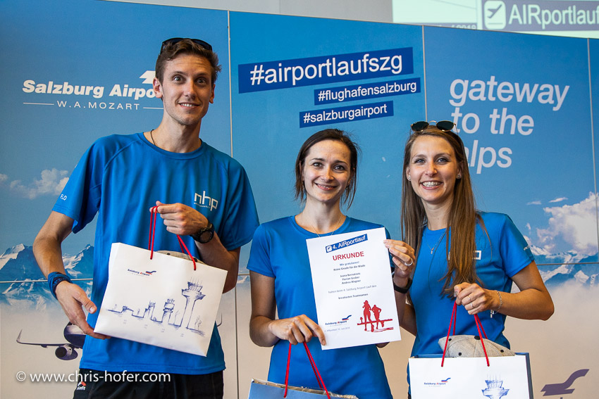 4. Airportlauf am Salzburg Airport 15.06.2018 Foto: Chris Hofer