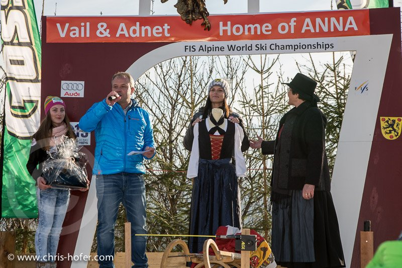 Anna Fenninger Empfang in Adnet, 2015-02-14, Foto: Chris Hofer