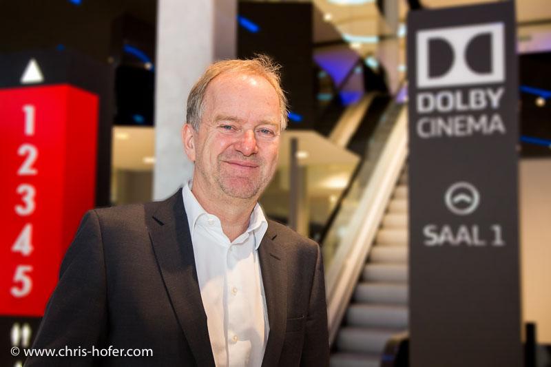 Cineplexx Salzburg Airport Pressekonferenz Dolby Cinema 2016-06-29, Foto: Cineplexx/Chris Hofer, Bild zeigt: Christian Langhammer