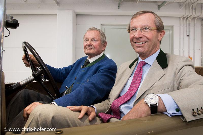 Eröffnung Fahrtraum Mattsee, 2013-06-15; Foto: Chris Hofer, Bild zeigt Ernst Piech, LH-Stv. Wilfried Haslauser
