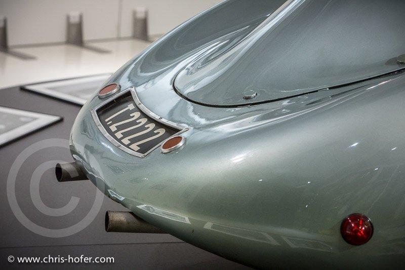 Eröffnung Sonderausstellung Otto Mathe im fahr(T)raum Mattsee, 2015-01-23, Foto: Chris Hofer, Bild zeigt: Porsche Typ 64