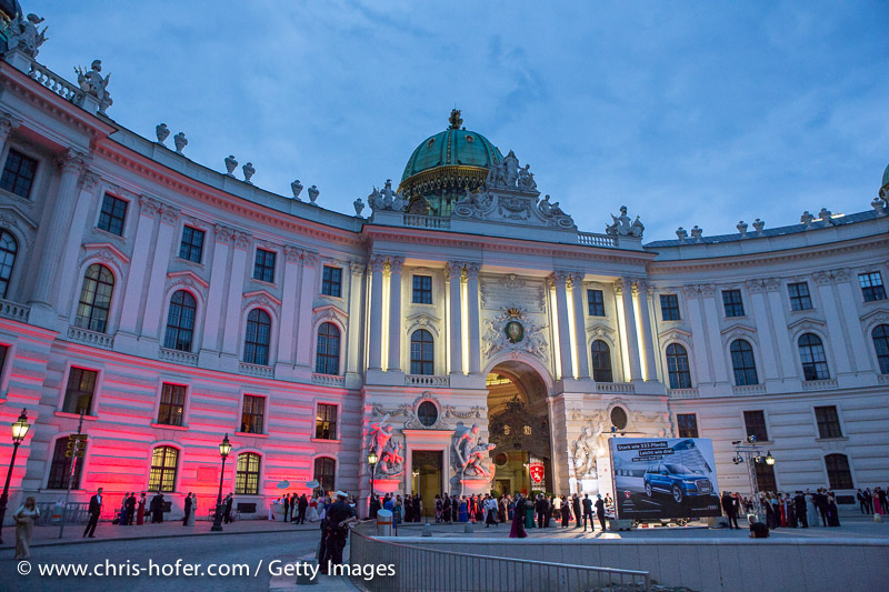 VIENNA, AUSTRIA - JUNE 26: Location of the Fete Imperiale 2015 on June 26, 2015 in Vienna, Austria.  (Photo by Chris Hofer/Getty Images)