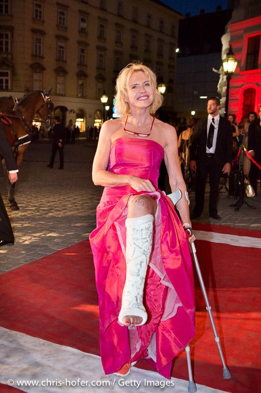 VIENNA, AUSTRIA - JUNE 26: Eva Wegrostek attends the Fete Imperiale 2015 on June 26, 2015 in Vienna, Austria.  (Photo by Chris Hofer/Getty Images)