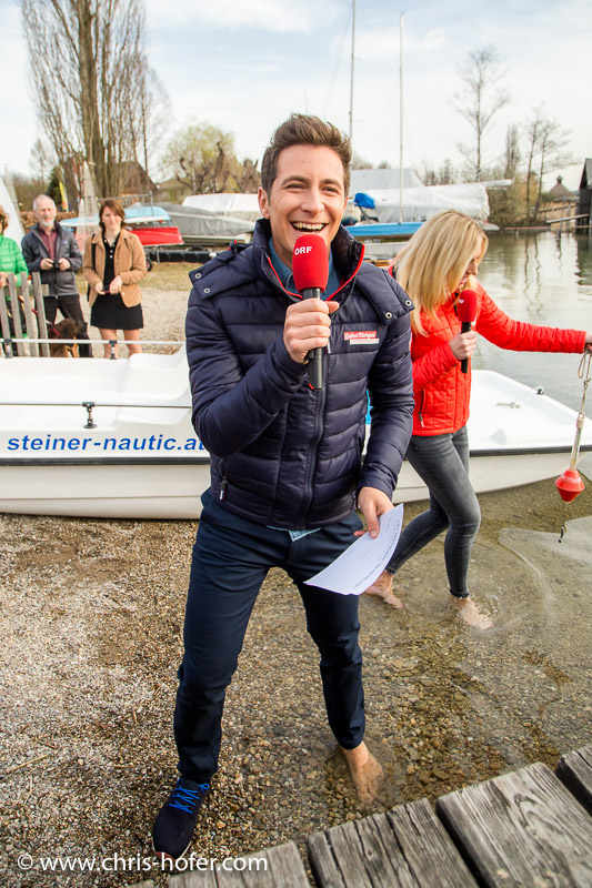 ORF Guten Morgen Österreich in Mattsee, 2016-04-01, Foto: Chris Hofer