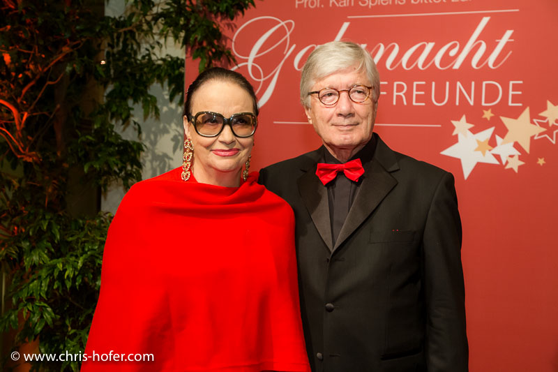 VIENNA, AUSTRIA - MARCH 19: Christian Wolff with his wife Marina attend Karl Spiehs 85th birthday celebration on March 19, 2016 in Vienna, Austria. (Photo by Chris Hofer/Getty Images)