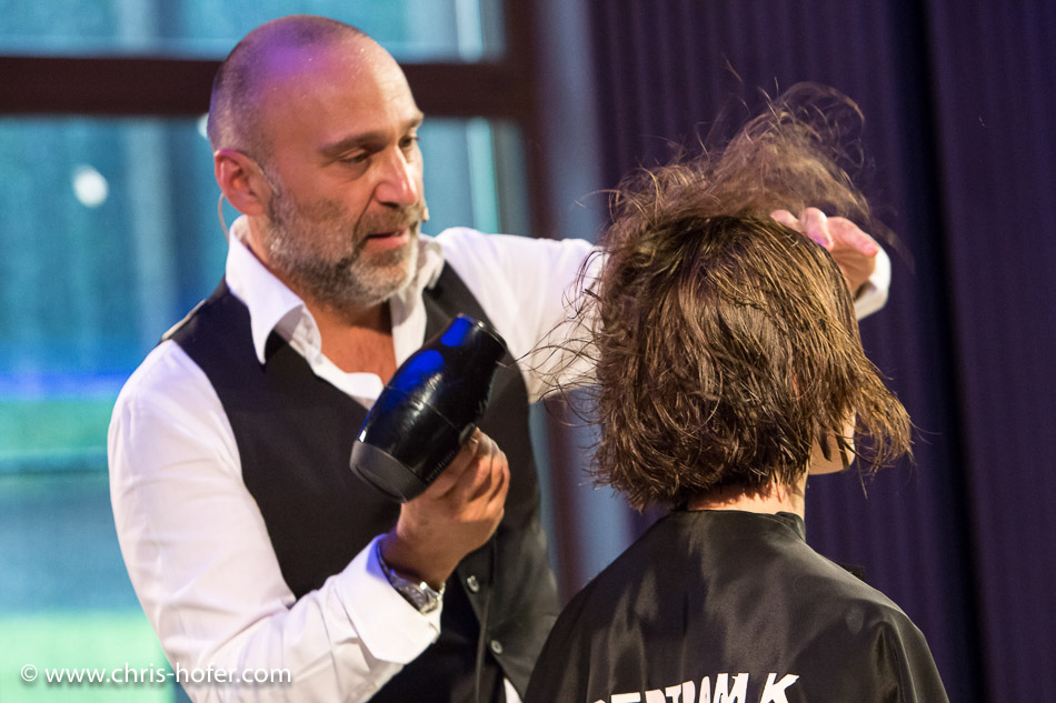 L`Oréal Zukunftskongress Werfenweng 2016 / Frisurenshow Bertram K., Foto: Chris Hofer Fotografie & Film, www.chris-hofer.com