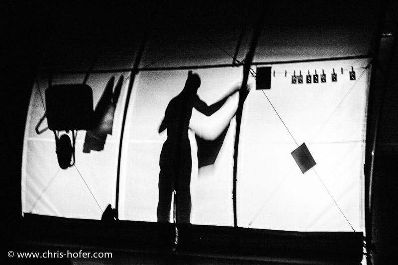 """Winterfest 2005, """"Le Jardin"""" mit Didier André und Jean-Paul Lefeuvre, Republic Salzburg, Foto: Chris Hofer"""