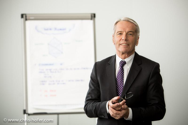 Businessportrait, Foto: Chris Hofer