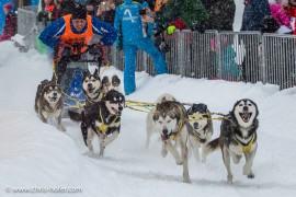 Bilder :: Schlittenhunderennen Werfenweng 2017