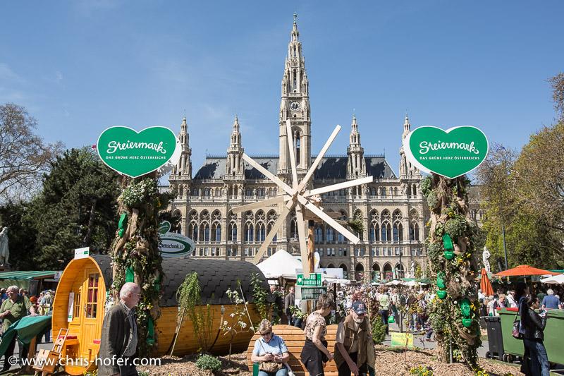 Bilder :: Eröffnung des Steiermark-Dorf am Wiener Rathausplatz