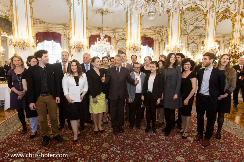 Bilder :: Empfang Preisträger Theodor Körner-Fonds durch Bundespräsident Dr. Heinz Fischer