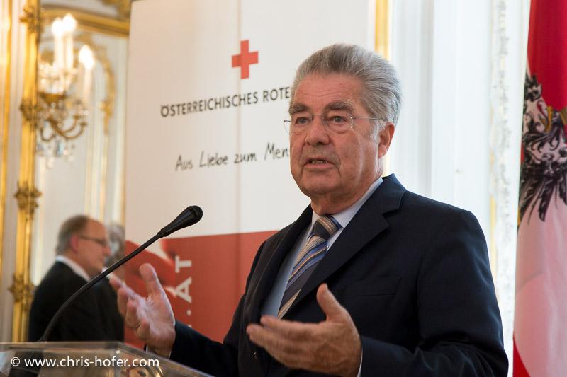 Bilder :: Empfang Delegation Rotes Kreuz durch Bundespräsident Dr. Heinz Fischer