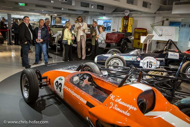 Bilder :: Eröffnung Sonderausstellung Mythos Formel V im Fahr(T)raum Mattsee