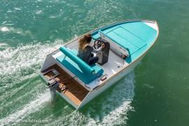 Fotoshooting Steiner Ultraleichtgleiter 4.2 Elektroboot